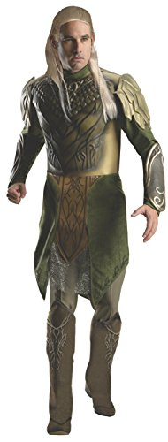 Legolas Costume - Rubie's Costume Men's Hobbit 2 Desolation Of Smaug Adult Deluxe Legolas, Green, Medium