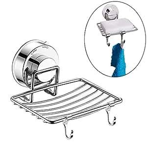1098952c64c9 Amazon.com: Suction Soap Dish,Powerful Vacuum Suction Cup Soap ...