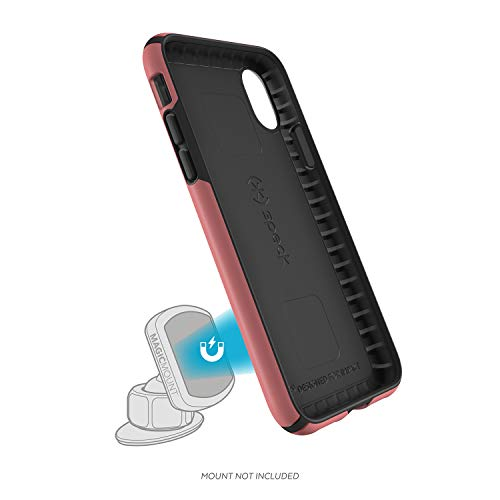 (Speck Presidio Mount MagicMount Pro Case for iPhone X (Velour Pink/Black))