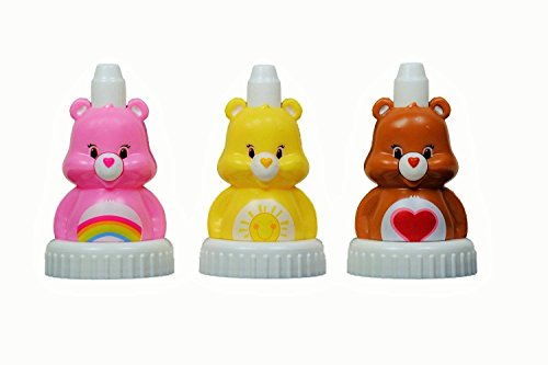 good2grow-spill-proof-bottle-toppers-3-pack-funshine-tenderheart-and-cheer-care-bears