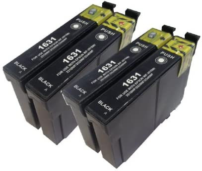 4 x 16 x l compatible Black For Use With e-1631 Ink Cartridges for ...