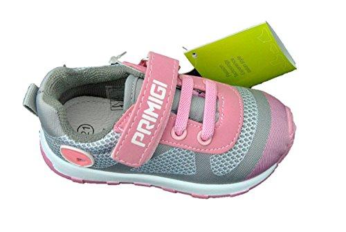 Primigi 1446200 Turnschuhe Mädchen Schuhe Erste Schritte Rosa Elastische Spitze
