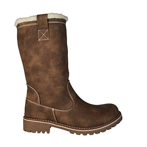 St552 Snow Women's Schuhtraum Boots Braun CqAxUt