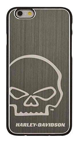 Harley-Davidson iPhone 6 Willie G Skull Aluminum Silver Phone Shell