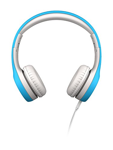 LilGadgets Kids Premium Volume Limited Wired Headphones with SharePort (Children, Toddlers) - Blue ()