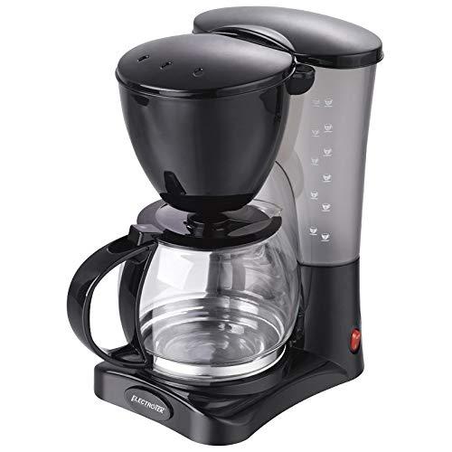 Cafetera de goteo, nº tazas: 10-12. Jarra transparente con marcas de nivel de 1.2L. de capacidad. Cuenta con filtro extraible y de fácil limpieza. ...