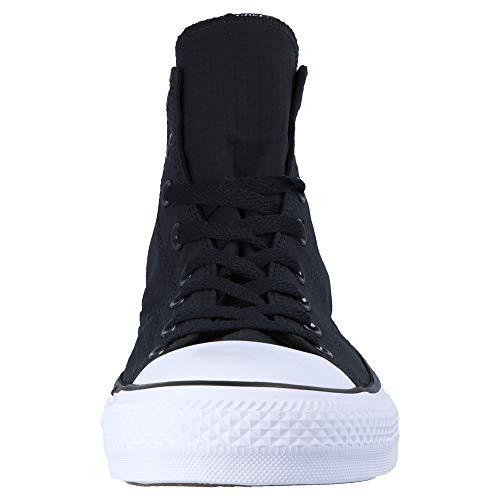 Converse Chuck Hi Taylor Nero Star Uomo Sneaker all UUdvwr