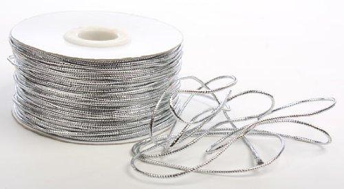 100 Yard Spool (Metallic Silver Tinsel Cord - 100 Yard Spool)