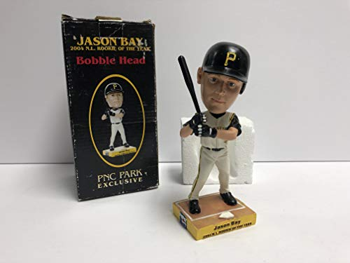 2005 Pittsburgh Pirates Jason Bay N.L. Rookie of the Year Baseball Bobblehead SGA