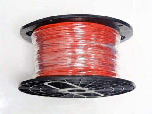 (JumpingLight 16 Gauge Wire RED 200 FT ON A Reel Primary AWG Stranded Copper Power MTW Cables Electronic Stranded Wire Cable Electrics)