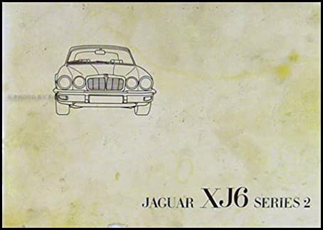 1976 jaguar xj6 owner s manual original jaguar amazon com books rh amazon com Jaguar XJ12 Jaguar XJ8