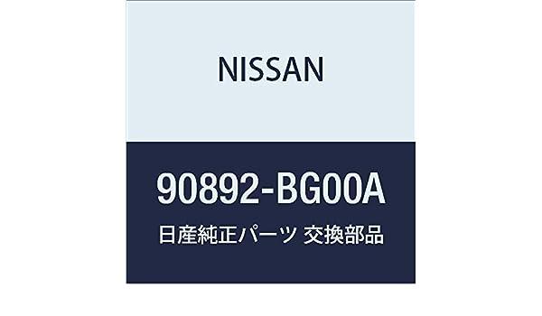 Nissan Genuine 90892-BG00A Emblem