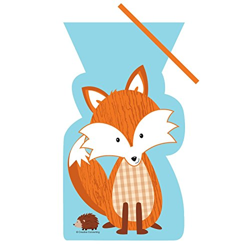 Forest Fox Plastic Treat Bags
