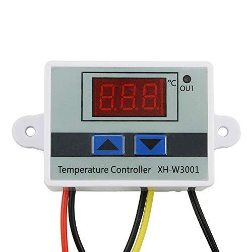 - Interrupteur avec sonde de d/étection -50-110/°C multifonction et intelligente Voir image Behavetw XH-W3001 Commande intelligente de temp/érature 12v affichage LED Thermostat num/érique