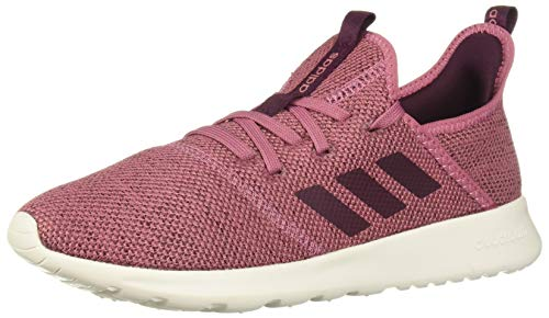 adidas Performance Women's Cloudfoam Pure Running Shoe, Maroon/Maroon/White, 10 M US