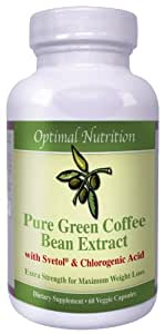 Svetol Green Coffee Bean Extract- 800mg of 100% Pure Green Coffee Bean Extract Svetol Safe and Effective All Natural Weight Loss Formula Start Losing Today!