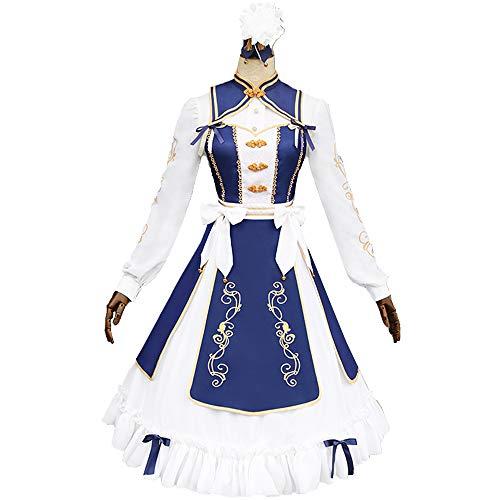 中世の女性のコスプレ 長袖ロリータ服 公演 ハロウィン変装 仮装 アニメ主人公 cosplay 着物