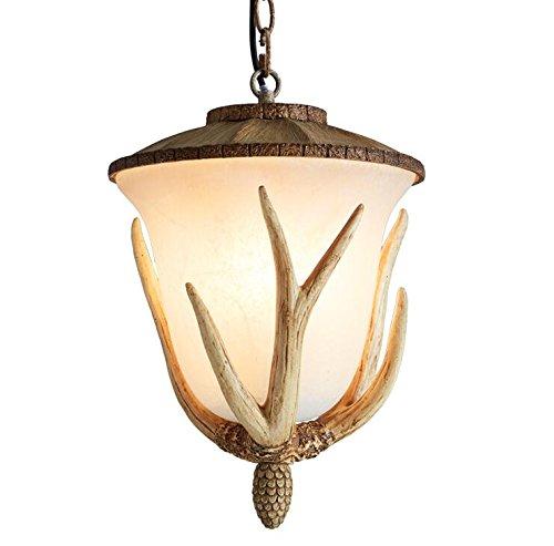 GQLB Geweih Kronleuchter Flur Lampen das Restaurant ist hell das Wohnzimmer Beleuchtung 300 * 380mm