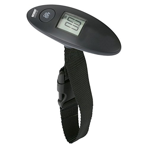 Swiss Crafts Oval Shape Digital Luggage Scale, Digital Travel Weigh Suitcases by Swiss Crafts