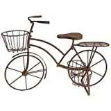 "Metal Bicycle Plant Stand 36""x15.5""x27"""