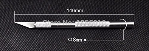 Craft Scalpel - Crafting Scalpel -1 set/ Metal Handle Scalpel, Blade Knife Wood Paper Cutter Craft Pen Knives,Engraving DIY Hand Tools - Scalpel Blades Knife