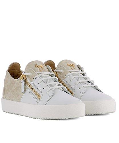 Giuseppe Zanotti Design Women's RS80040001 White Leather Sneakers lGajXaZ