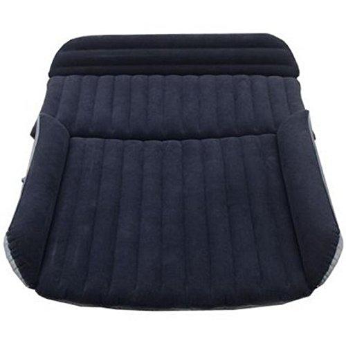 DHG Segunda Generación SUV Coche Inflable Colchón Coche Cama Cama Cama Cama Cama Anticongelante,Azul y Negro