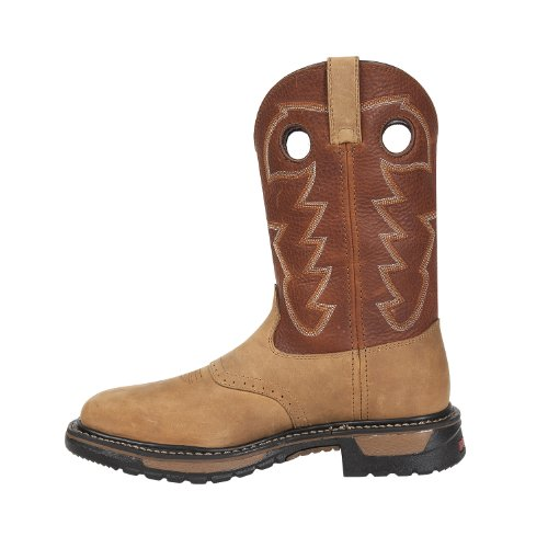 Rocky Mens 11 Original Ride Stalen Neus Waterproof Western Boot-rkyw041