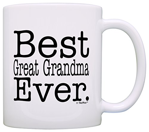Mothers Grandma Great Coffee White