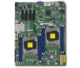 Supermicro Dual LGA2011, Intel C612, DDR4, SATA3, V & 2GbE, EATX Server Motherboard X10DRD-IT-O ()
