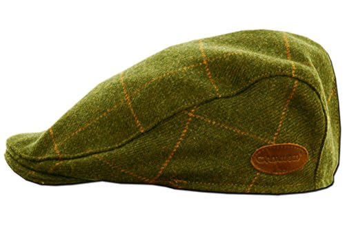 - Classic Irish Tweed Cap. Traditional Irish Flat Cap from Donegal, Green, Medium