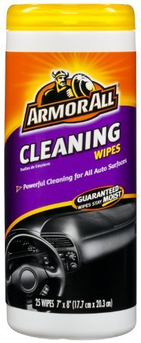 Armor All Multipurpose Cleaning Wipes (Pack of 3) (Car Cleaning Wipes)