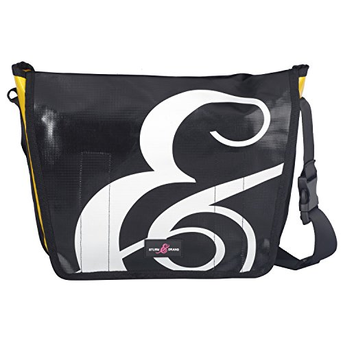Messenger bag - Borsa in tela cerata Sturm & Drang - Borsa a tracolla - Cartella, borsa università