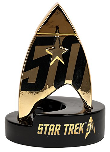 Star Trek 50th Anniversary Cereamic Storage - Jar Anniversary 50th Cookie