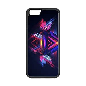 abstract art 8 iPhone 6 4.7 Inch Cell Phone Case Black ten-245191