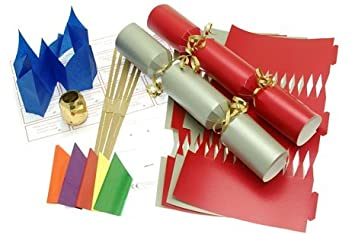 10 x make your own large 14 35cm christmas cracker kits red 10 x make your own large 14 35cm christmas cracker kits solutioingenieria Image collections