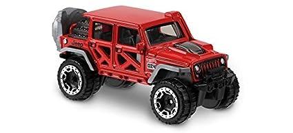 Amazon Com Hot Wheels 2018 50th Anniversary Hot Trucks 17 Jeep