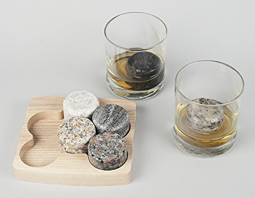 Buy whiskey to drink on the rocks