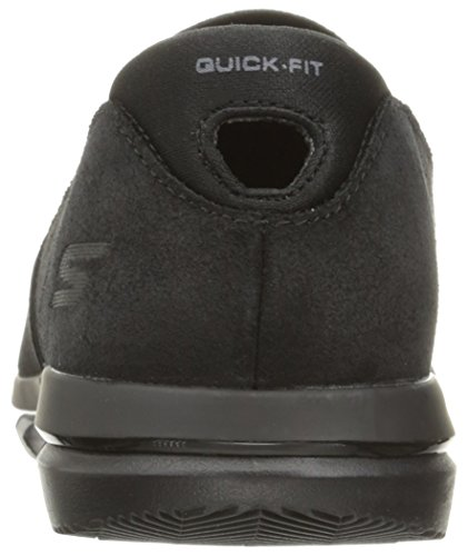Skechers Performance Mens Go Flex Comrade Walking Shoe Black/Gray