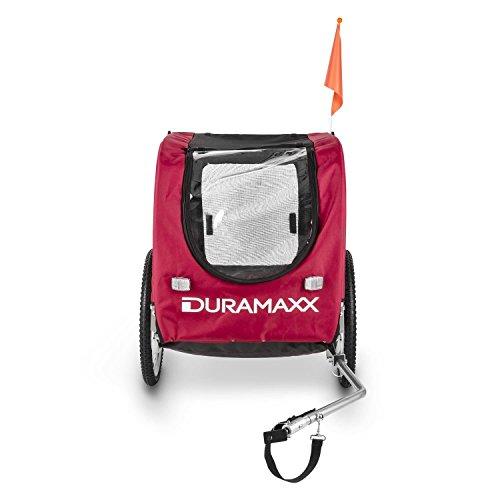 Oneconcept DURAMAXX King Rex Remolque para Bicicletas (Capacidad 250 litros, máx. 40 kg, Acoplamiento Fijo, neumáticos 16