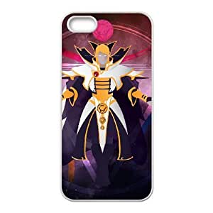 iphone5 5s White phone case Invoker Dota 2 DOT8678162
