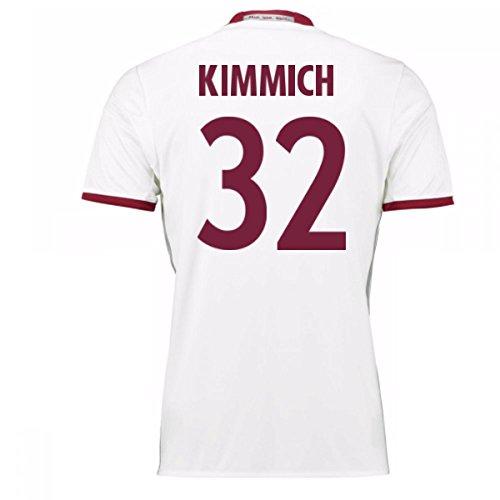 2016-17 Bayern Munich Third Football Soccer T-Shirt Jersey (Joshua Kimmich 32) - Kids