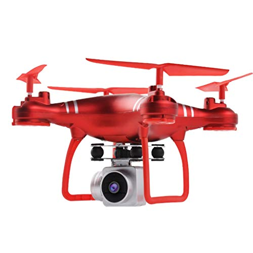 (LtrottedJ HJ14W WiFi Remote Control RC Drone Airplane Selfie Quadcopter with HD Camera)