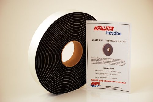 API LDTT125P Topper Tape® for Mounting Truck Caps / Camper Shells (1 roll 1-1/4