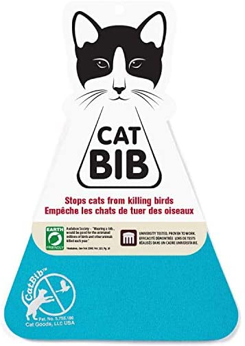 CatBib - Salva pájaros, Protege a los Gatos: Amazon.es: Productos para mascotas