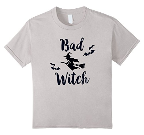 Kids Bad Witch Funny Halloween Party Idea T-Shirt for Women 4 (Funny Halloween Party Ideas)