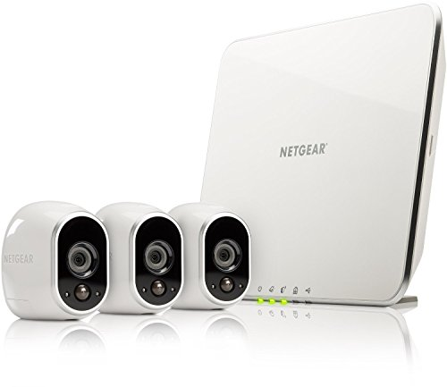 Arlo Wireless Home Security Camera System with Motion Detection,...