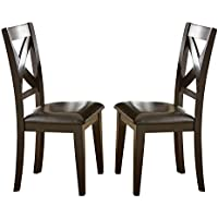 Steve Silver Company Crosspointe Side Chairs, Set of 2