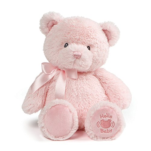 Baby GUND My First Teddy Sound Toy Stuffed Animal Plush in P