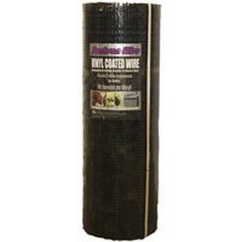 Jackson Wire 11033824 Hardware Cloth, 100 Ft Roll L X 36 in W, 1/2 in Mesh, 19 Ga Wire, 1/2